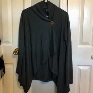 Bobeau cardigan wrap size medium.